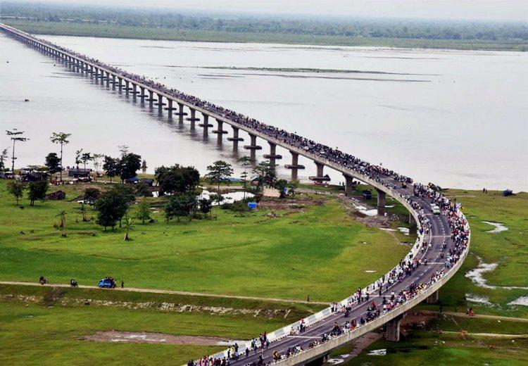 देश का सबसे लंबा पुल बन कर हुआ तैयार, भूपेन हजारिका रखा नाम