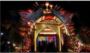 शिब मंदिर सरबाजनिन दुर्गात्सब