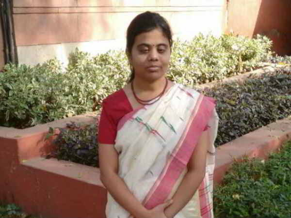 Blind IAS Officer