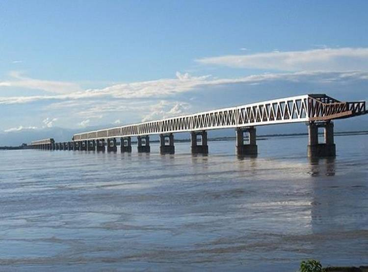 देश के सबसे लंबे रेल-रोड पुल