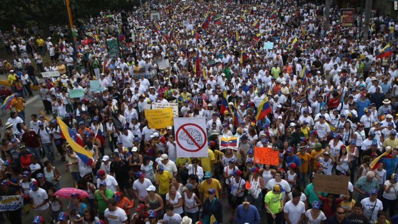 वेनेजुएला में आर्थिक संकट