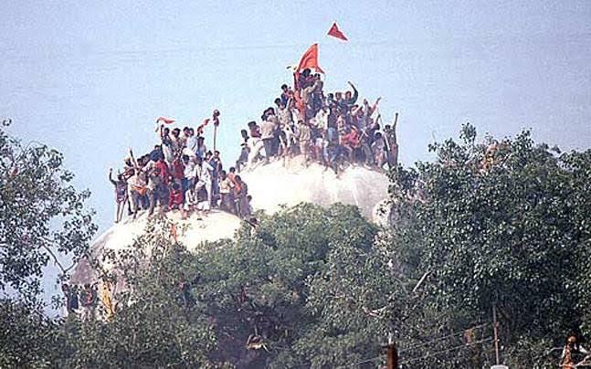 History of 06th Dec - 1992 में आज ही ढ़ाही गई थी बाबरी मस्जिद